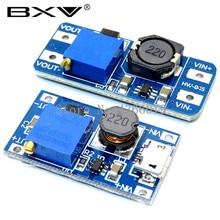 1 шт. MT3608 DC-DC регулируемый Повышающий Модуль 2A повышение пластина Step Up Модуль с MICRO USB 2 V-24 V 5V 9V 12V 28V