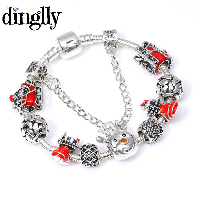 f7808c51e ⃝ New! Perfect quality charm bracelet christmas bracelets pandora ...