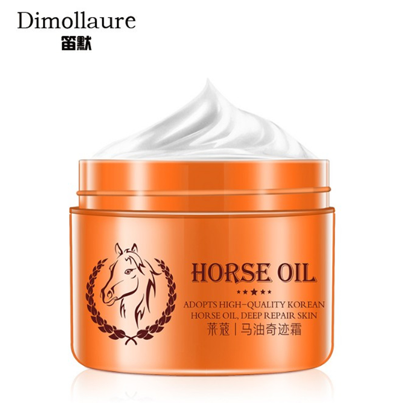 HORSE OIL cream Face Lift Essence Anti-Aging Whitening Wrinkle Removal Face Cream Hyaluronic Acid Skin Care Korean Cosmetic