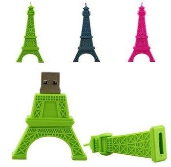 Hot pendrive usb flash drive gray Paris Tour Eiffel 4gb 8gb 16gb 32gb pen drives flash usb drive Eiffel Tower usb flash memory