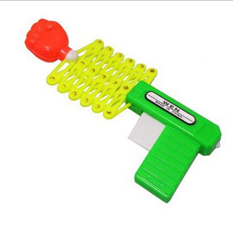 Telescopic Fist Gun Strange New Moving The Spoof Children Toy