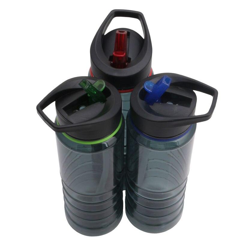750ML Flip paille vélo vélo Camping boisson hydratation bouteille d'eau Sport nouveau