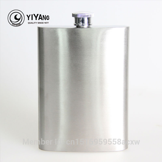 8oz Stainless Steel Flasks Russian Hip Flask Liquor Whisky Male Small Portable Shot Bottles Free Shipping drinkware alcohol