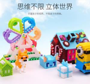 Image 5 - 20 colros/5mm hama חרוזים נתיך חרוזים חינוכיים צעצוע ילדים diy handmaking צעצועי perler PUPUKOU חרוזים
