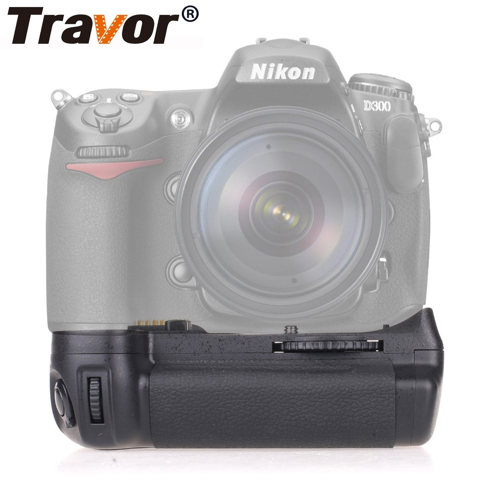 Travor Camera Vertical Battery Grip For Nikon DSLR D300 D300S D700 Battery Handle Replace MB-D10 Work With EN-EL3E Battery