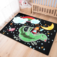 Cartoon carpet bedroom living room coffee table Bedside Rugs Child room cute Game Crawl Mat Carpets Home Decor machine washable