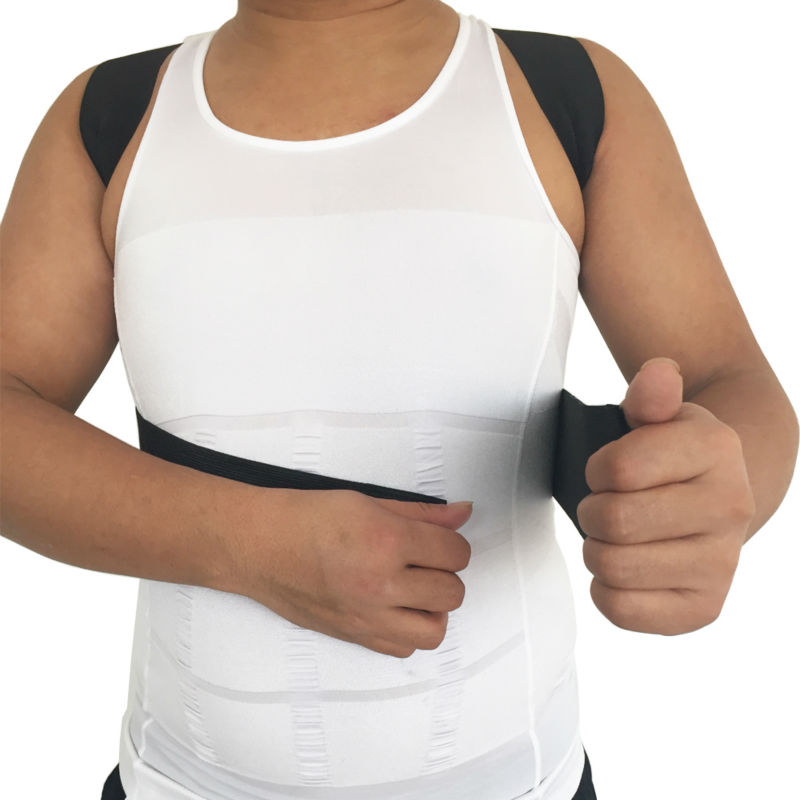 b82a064b2d0be Elastic Back Correction Belt Orthopedic Posture Corrector Lumbar ...
