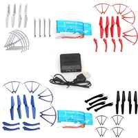 Blueskysea 2x850mAh Battery+Charger+4xPropeller Frame Landing SkidFor Syma X5SW X5SC X5SC-1