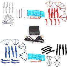 Free Shipping!2x850mAh Battery+Charger+4xPropeller Frame Landing SkidFor Syma X5SW X5SC X5SC-1 syma x5sw