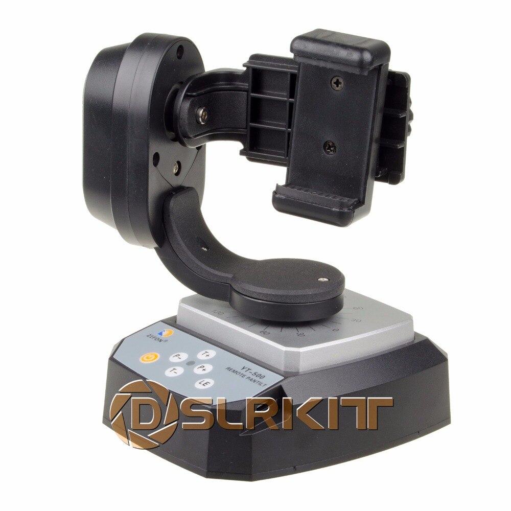 Zifon yt 500 remote control pan tilt auto motorized for Pan and tilt head motorized