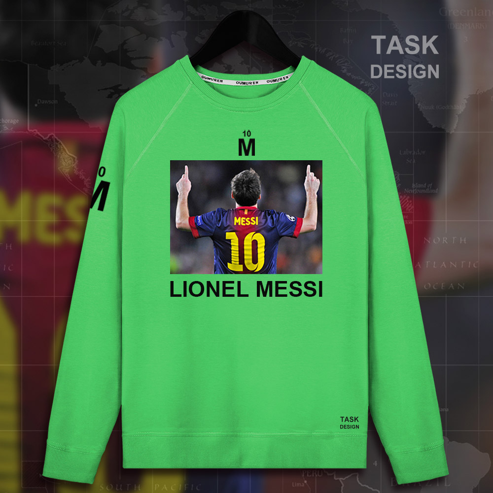 2fbc55dfb Fan Apparel   Souvenirs Lionel Messi Soccer T-shirt Custom Black Unisex  Adult Argentina Barcelona