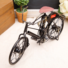 2017 Vintage Bicycle Model Handicrafts Nostalgic Metal Gift Decorative Iron Bike Collection