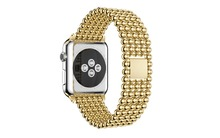 Fashion Apple Watch Band 38mm Stainless Steel Metal Watch Strap