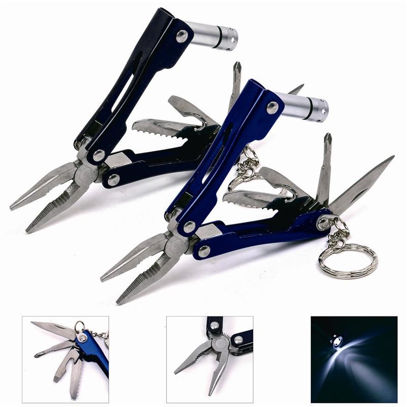 Pocket size LED Flashlight Knife for camping Multi Tool ...