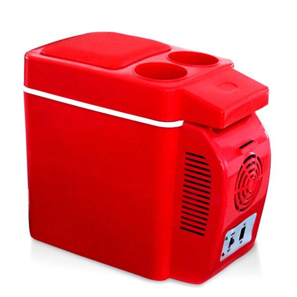 Portable Car Fridge 12V 7L Cooler Warmer Travel Refrigerator Electric Truck Freezer