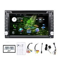 2 din car autoradio audio 2din car stereo for Universal central multimidia android 9.0 DVD player with wifi, support DAB,TV,4G