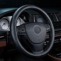 car steering wheel cover genuine leather accessories for nissan note pathfinder patrol y61 primera pulsar qashqai j10 j11