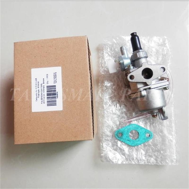 G45L CARBURETOR W/ CARB GASKET FOR ZENOAH KOMATSU G4K G45 BC4310 MD431 FLOAT TYPE CARB AY BRUSHCUTTER TRIMMER PARTS цена
