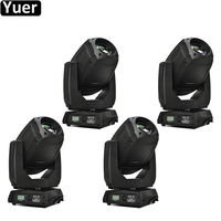 4Pcs/Lot LED 330W Moving Head CMY Music Light 3 Facet Prism Stage Lights DJ Party Disco Lasers Projector Moving Head Lights