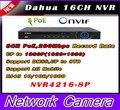 Dahua NVR 8ch 16 ch 32CH 1U Network Video Recorder NVR4208-8P NVR4216-8P NVR4232-8P 1 HDMI 1 VGA 8 PoE ports