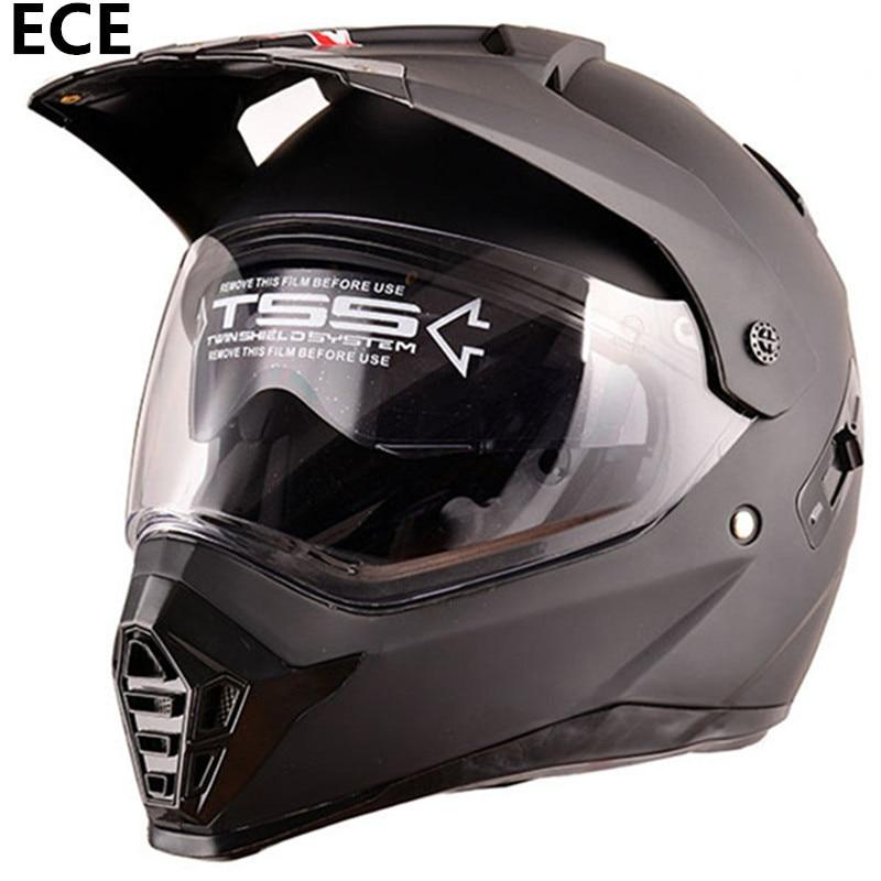 European Standard Full Face Helmet Casco Moto Capacete Motorcycle