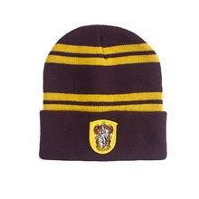 Potter cappello di Inverno Caldo Spor Grifondoro Serpeverde Tassorosso  Corvonero Berretti di Lana a28dbb97bcfc