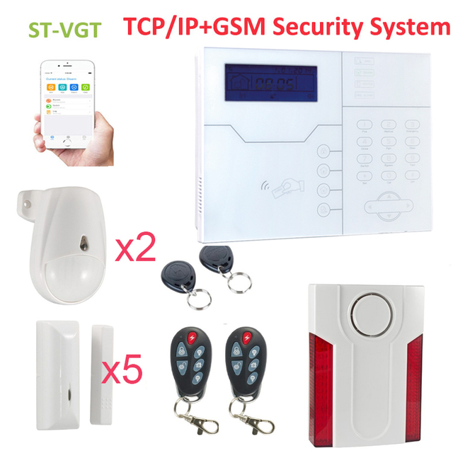 Awesome Focus 110db outdoor alarm siren ST VGT APP GSM security alarm sets motion For Your House - Unique outdoor motion sensor alarm Minimalist