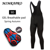 2019 MIMRAPRO ביב רכיבה על אופניים מכנסיים ביגוד רכיבה שרוול ארוך דק סגנון רכיבה מכנסיים מפעל למכור 02-107