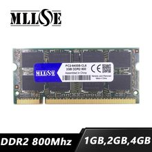 MLLSE 1gb 2gb 4gb ddr2 800 mhz pc2-6400 sodimm laptop, ddr2 800 2gb pc2-6400s sdram notebook, pamięć ram ddr2 2gb 2g 800 mhz dimm