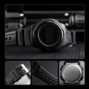 Image 4 - Men Sports Watches SKMEI Brand Fashion Chronos Rubber Mens Waterproof LED Digital Watch Man Military Clock Relogio Masculino