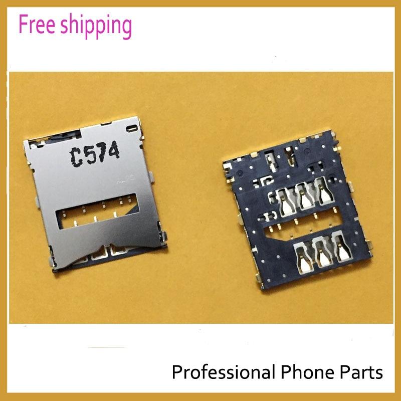 Original Sim Card Reader Holder Slot Connector For Sony Xperia Z L36H LT36i C6603 Sim Reader