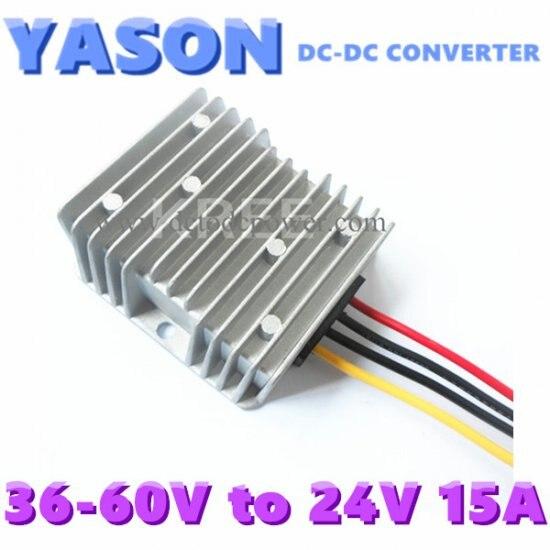 DC-DC converter DC48V(36V-60V)to DC24V 15A 360W двухкамерный холодильник позис rk fnf 170 белый
