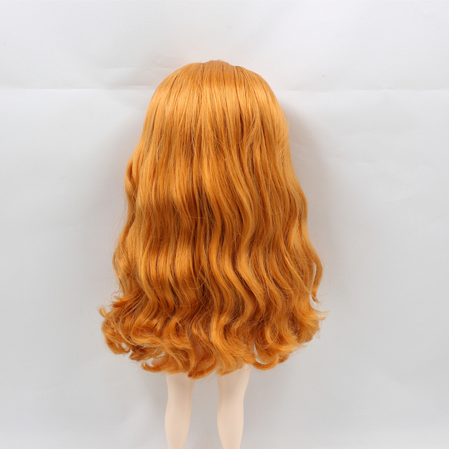 Factory Blyth Doll Nude Doll Plump ICY DBS Doll 4 Colors For Eyes Suitable For DIY Orange Wavy Hair