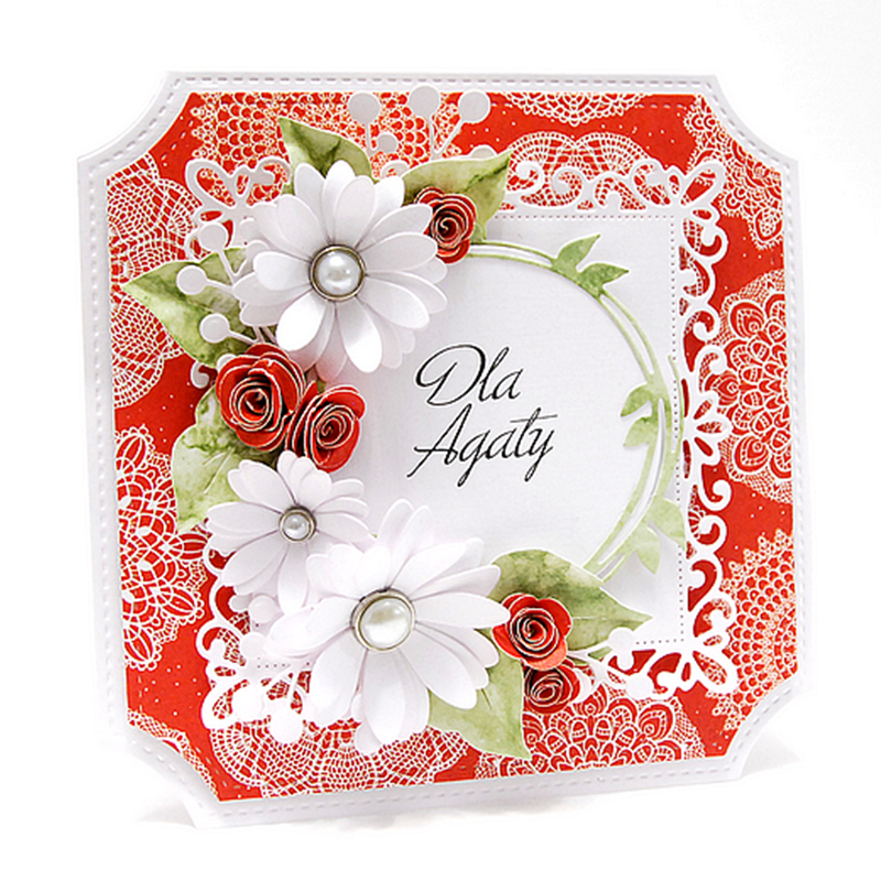 Wreath Metal Cutting Dies Stencils for DIY Scrapbooking Album Photo Paper Cards Making Crafts Embossing Decorative Handmade in Cutting Dies from Home Garden