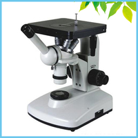 100X 400X 1000X Halogen Lamp 6V/20W Kohlar Illumination System Monocular Inverted Metallurgical Microscope TXS102 01A
