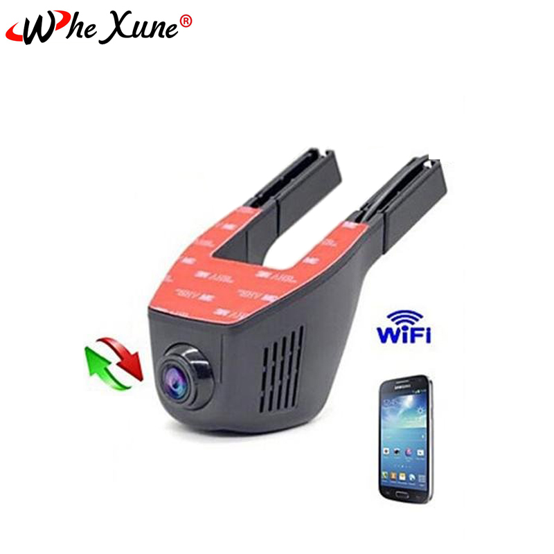 WHEXUNE WiFi Car DVRS Full HD 1080P Recorder Dash Cam Dashcam Parking Monitor Night Vision Novatek 96658 Video Surveillance