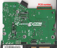 HDD PCB логика совета 2060-001252-000 REV для WD 3.5 SATA ремонта жесткий диск восстановления данных
