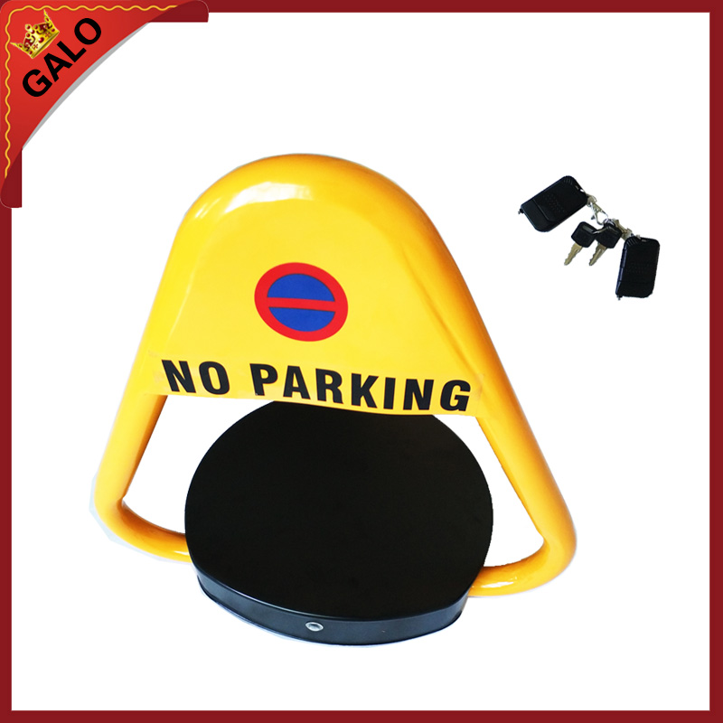 Outdoor Used Automatic Remote Control Parking Lock/parking Barrier/ Parking Space Lock With Alarm Sound