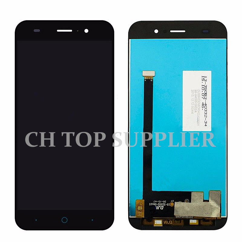 5 ''calidad para zte blade z7 x7 t663 t660 v6 d6 lcd display + touch screen reem