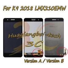 5,0 Новый для LG LMX210MA Aristo LTE/K9 2018 LMX210EMW LMX210NMW LMX210EM Полный ЖК дисплей + кодирующий преобразователь сенсорного экрана в сборе с рамкой 100% протестирован