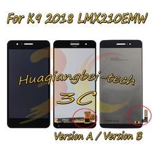 5,0 Neue Für LG LMX210MA Aristo LTE/K9 2018 LMX210EMW LMX210NMW LMX210EM Volle LCD DIsplay + Touch Screen digitizer Montage Mit Rahmen 100% Getestet