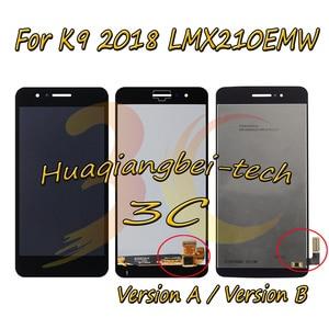 Image 1 - 5.0 nouveau pour LG LMX210MA Aristo LTE/K9 2018 LMX210EMW LMX210NMW LMX210EM écran LCD complet + écran tactile numériseur assemblée avec cadre 100% testé