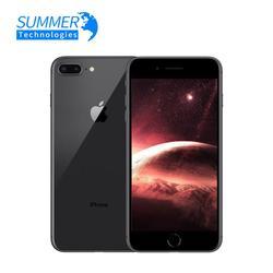 Desbloqueado original apple iphone 8 plus 3 gb 64 gb usado telefones celulares 3 gb ram 64/256 gb rom 5.5 mp 12.0 mp ios hexa-core