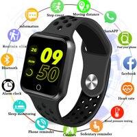 men waterproof Fitness Tracker Smart Watch Women Heart Rate Monitor Sport Smartwatch Men Waterproof Blood Pressure Wristband For Android IOS (1)