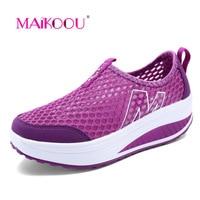 Hot Cakes Tenis Feminino Esportivo Fashion Women Casual Shoes Breathable Mesh Chaussures Sapatenis Feminino Tenis Feminino