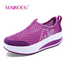 maikoou hot cakes tenis feminino esportivo fashion women casual shoes breathable mesh chaussures sapatenis vulcanize shoes