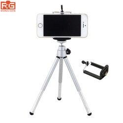 Mini Tripé Titular Bracket Suporte Monopé para o Telefone Móvel iPhone Da Apple/Gopro Hero/Sony Ação Cam HDR AS20 AS15 AS100V AS30V AZ1