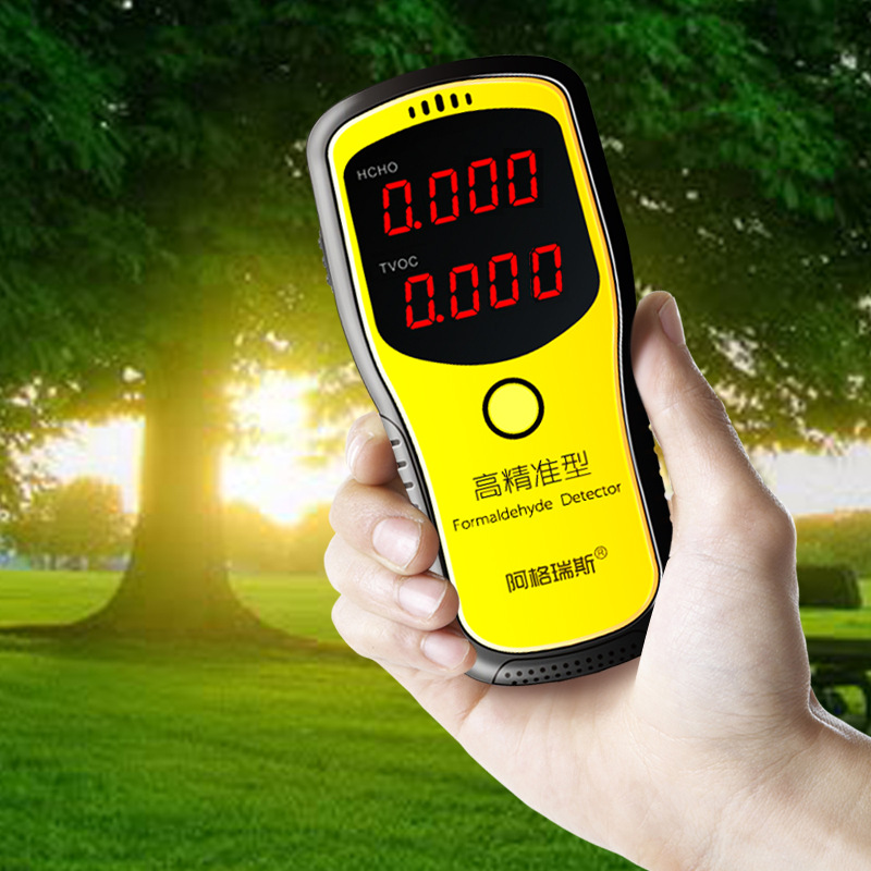 Portable Air Quality Detector Formaldehyde Detector English Menu Professional Laser Tester Sensor HCHO TVOC Meter Gas Analyzer holder lcds 5065 black gloss кронштейн для тв