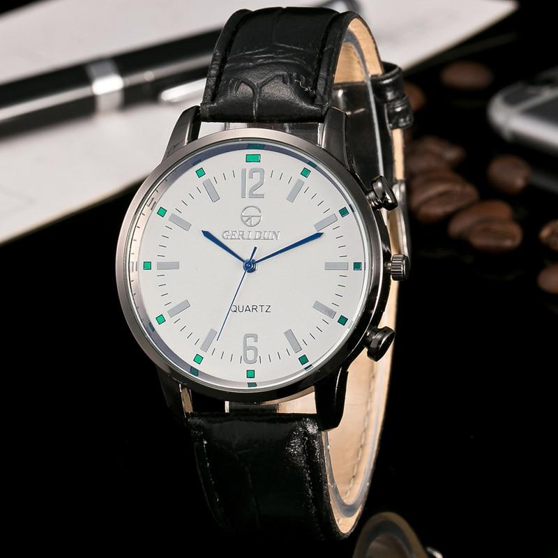 2017 Relojes de Hombre Reloj de pulsera de Lujo Para Hombre Reloj de - Relojes para hombres - foto 3