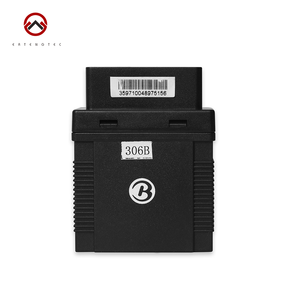 Car GPS Tracker TK306B OBDII Connection Mini GPS Locator Vehicle GSM GPRS Alarm Tracking Device 2.4G Attendance Management